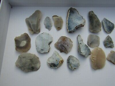 Mesolithic Flint tools British Lot Collection Brecklands UK