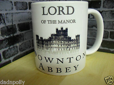 LORD OF THE MANOR T-SHIRT OFFICIAL MERCHANDISE S - XXL BLUE DOWNTON ABBEY