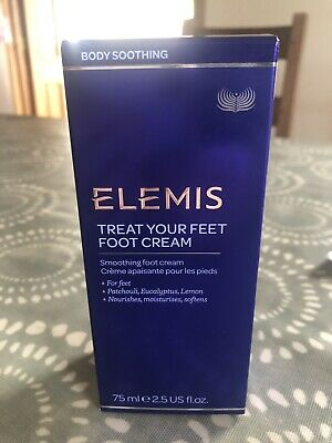 Elemis Treat Your Feet Foot Cream 75ml ~ New & Boxed ~