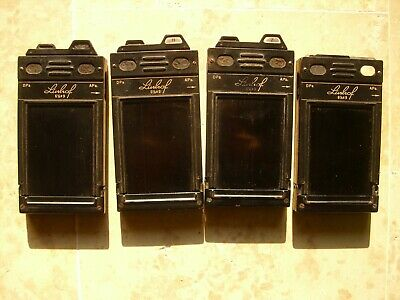 4 Linhof Technika 6x9 film holders
