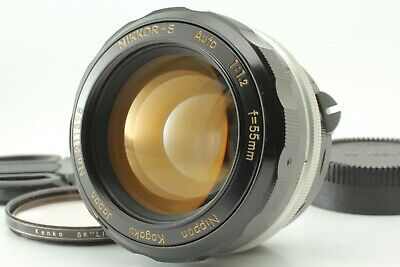 【Excellent+++++】Nikon non-Ai Nikkor S Auto 55mm f/1.2 MF Lens from Japan #533209
