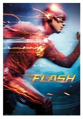 The FLASH Run Licensed Maxi Poster Print  24x36 inches