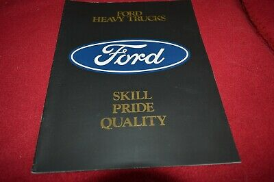 Ford Heavy Truck For 1985 Dealer's Brochure GDSD8