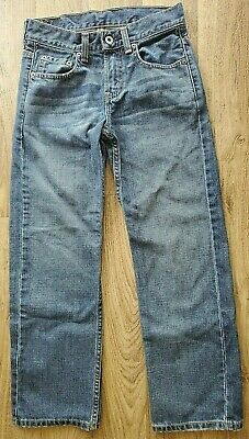 "Boys Levis 569 Loose Fit Blue Jeans  25"" X 25"" Size 10 Nice"