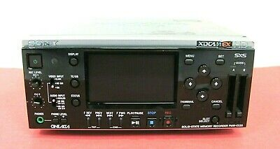Sony PMW-EX30 XDCAM EX Solid State Memory Recorder, Good Working