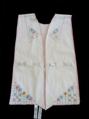 1920s Hand Embroidered Combing Jacket - Extra Small
