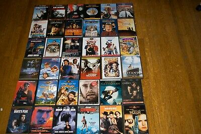 Assorted and previously Viewed DVDs from my private collection