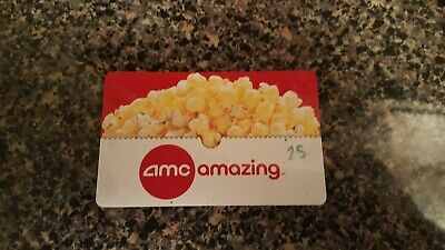 AMC Theater - $25.00 Gift Card Free Shipping