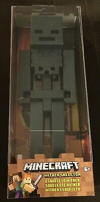 Minecraft Wither Skeleton Large Scale Mojang Action Figure 8.5 Inches New In Box