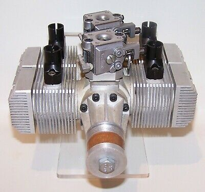 Very Rare Prototype Ross Opposed 4 Cylinder 2.40 R/C Model Airplane Engine