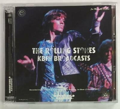 The Rolling Stones KBFH Broadcasts 1973 CD 3 Discs Case Set Moonchild F/S