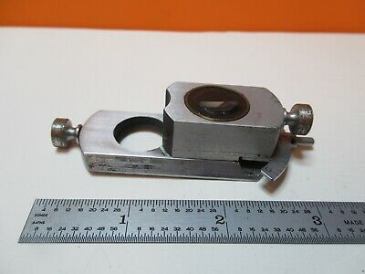 Antique Bausch Lomb  Slide Pol Optics Microscope Part As Pictured &17-A-70