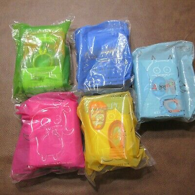 2019 MCDONALDS UGLY DOLLS CANADA LOT of 5 Toys MIP NEW CANADIAN EDITION