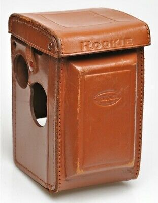 Yashica ROOKIE Twin Lens Fitted Leather Eveready Case Tan