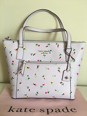 NWT Kate Spade 💯%Authentic Cameron Wildflower Ditsy Pocket Tote