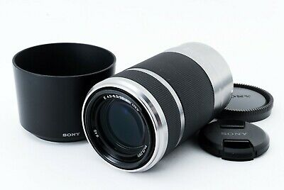SONY SEL55210 55-210mm f/4.5-6.3 Aspherical IS OSS Lens Silver [Excellent+++]