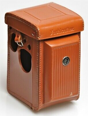 YASHICAFLEX S by Yashica Leather Fitted Eveready Case Tan