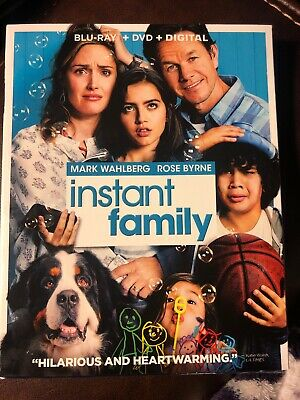 NEW UNOPENED Instant Family Bluray + DVD + Digital 2 Disc Set! with Slipcover