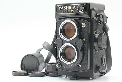 【MINT++ 】YASHICA MAT 124 G 6x6 TLR Medium Format Camera from Japan A021