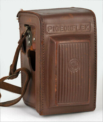 PIGEONFLEX by Yashica Leather Fitted Eveready Case Brown