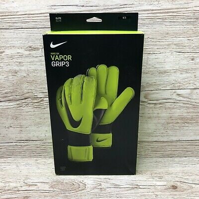 Nike Gk Vapor Grip 3 Elite Goalkeeper Gloves Size 8.5 Gs0352 702