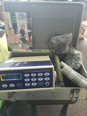 Life Detox Ion Detoxification Foot Bath Spa Machine H7031B Metal Case
