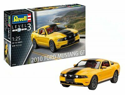 Ford Mustang GT Cabrio Gold 2010 Bausatz Kit 1//25 1//24 Revell Modell Auto mit ..