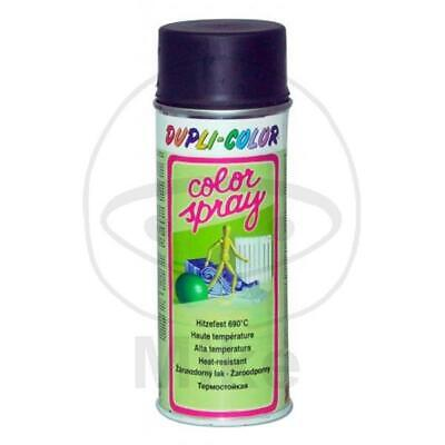 DUPLI-COLOR Lackspray schwarz matt hitzefest 690°C 400 ml 651458