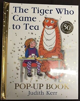 The Tiger Who Came To Tea Pop Up Special Edition - Rrp £19.99 Sale Combine P&P