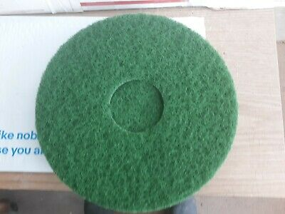 "5 Norton - Beartex 54 Line Plus Floor Maintenance Pads 12"" Green Heavy Scrub"