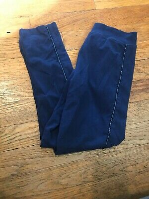 Girls Blue Leggings Size 8