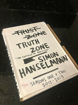 Simon Hanselmann TRUTH ZONE - 18/500 - 2012-2013 - Signed