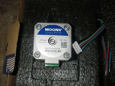 Moons Ms17Hd6P4200 Stepper Stepping Motor, High Torque, 2 Phase Nema17