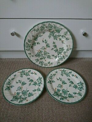 Bhs Country Vine Dinner Plate 26.5 Cm& 2 Salad Plates 20 Cm