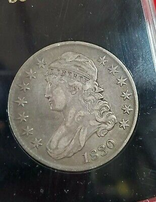 1830 Capped Bust Half Dollar VF