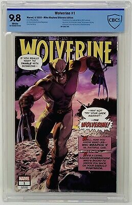 Wolverine #1 CBCS 9.8 Marvel 2020. Mike Mayhew Cover Lmtd 180 copies - PRE-ORDER