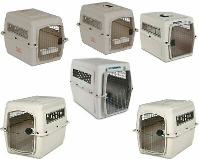 Sky Kennel Dog Pet Carrier Travel Cage Crates Small Medium Large Extra Giant