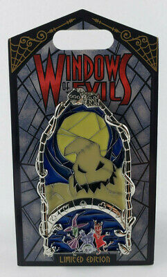 Disney Pin of the Month Windows of Evil Oogie Boogie 100% Original NBC