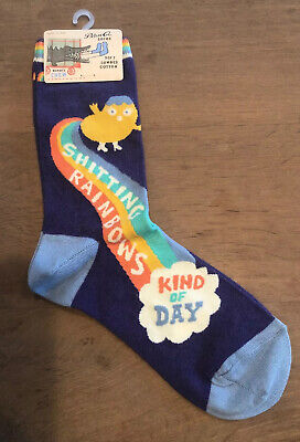 Blue Q Women/'s Ankle Novelty Socks The Universe is Kind of a D*** Blue OSFA