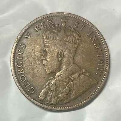 1911 Canadian King George Large Penny!! One Cent Coin!!