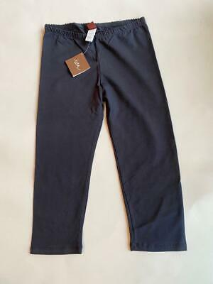 NWT Tea Collection India Western Ghats heritage blue capri leggings sz 12