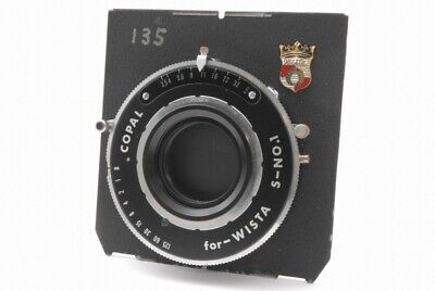Copal for Wista S-No.1 Shutter w/Wista Board *WC271