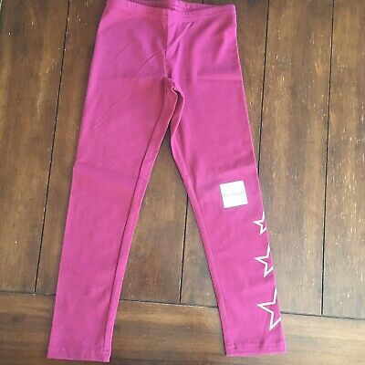NWT Old Navy Girls Full Length Leggings Red Stars Small 6-7 NEW