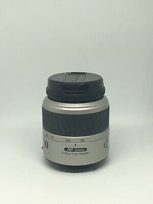 Minolta Maxxum AF POWER-Zoom Lens 35-80mm 1:4(22)-56 0.38m/1.3ft PreOwned Silver