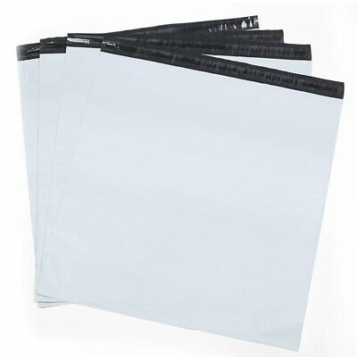 Large Bags White Poly Mailers Envelopes with Waterproof Postal Bags 100 Pack