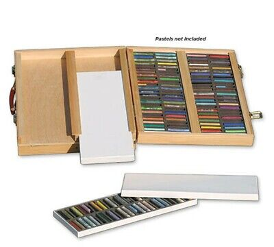 Degas Deluxe Pastel Box with Port-A-Box Natural Finish