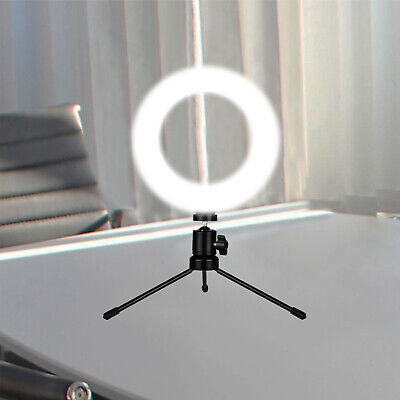 LED Ring Light Lamp Selfie Camera Phone Studio Photo Video Live Dimmable Youtube