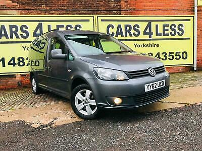 2013 Volkswagen Caddy DISABLE MOBILITY RAMP 1.6 TDI DSG AUTOMATIC 5 DOORS GREY