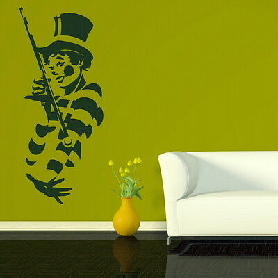 Clown Circus Removable Vinyl Decal / Decor Wall Sticker / Art Wall Decal RA17
