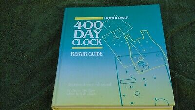 400 day clock repair guide Horolovar 10th edition 1991 Charles Terwilliger